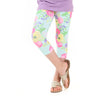 Girls Floral Arden Capri Leggings