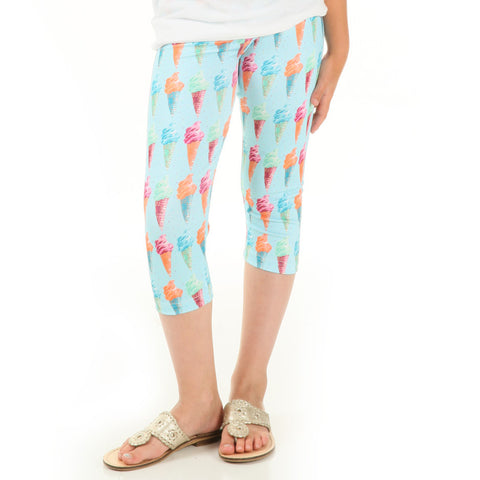 Girls Ice Cream Arden Capri Leggings