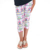 Girls Bookworm INITIALS Arden Capri Leggings