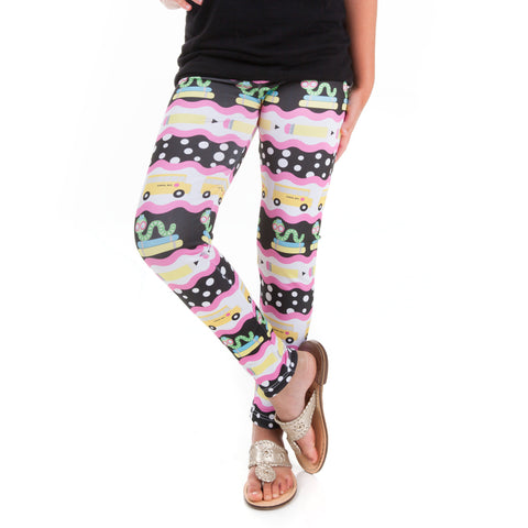 Girls Bookworm Arden Leggings