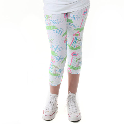 Girls Lighthouse Arden Capri Leggings