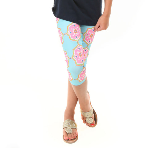 Girls Kaleidoscope Arden Capri Leggings