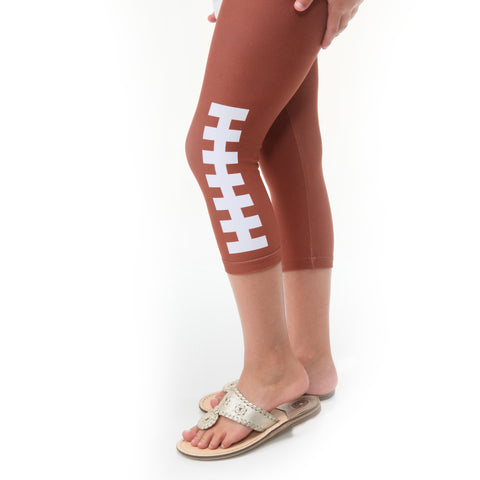 Girls Football Fame Arden Capri Leggings