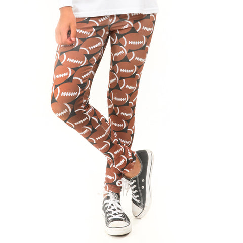Girls Football Toss Arden Leggings