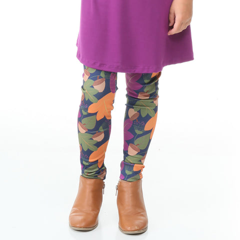 Girls Fall Time Fun Arden Leggings