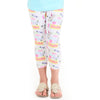 Girls School Name Arden Capri Leggings