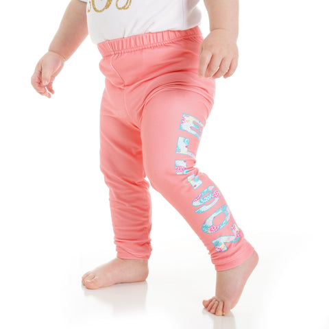 Baby Girls Name Ireland Leggings