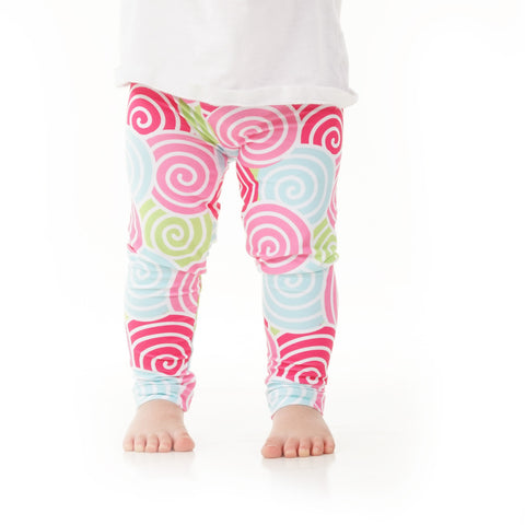 Baby Girls Swirl Ireland Leggings
