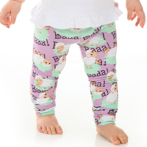 Baby Girls Farm Sheep Ireland Leggings
