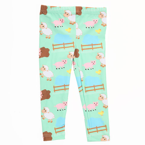 Baby Girls Farm Animals Ireland Leggings