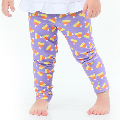 Baby Girls Candy Corn Ireland Leggings