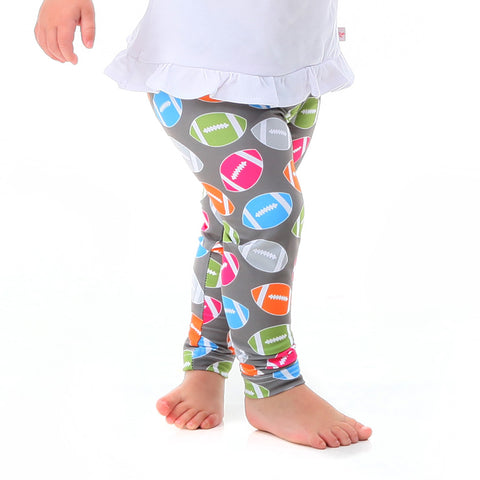 Baby Girls Football Toss Ireland Leggings