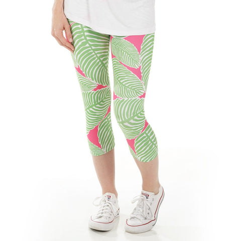 Ladies Palm Arden Capri Leggings