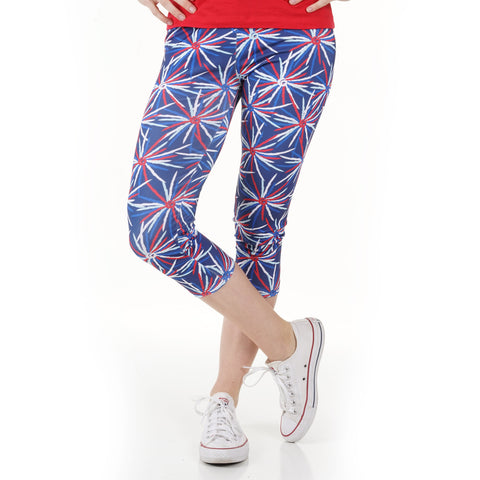Ladies Fireworks Arden Capri Leggings