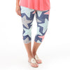 Ladies Starfish Arden Capri Leggings