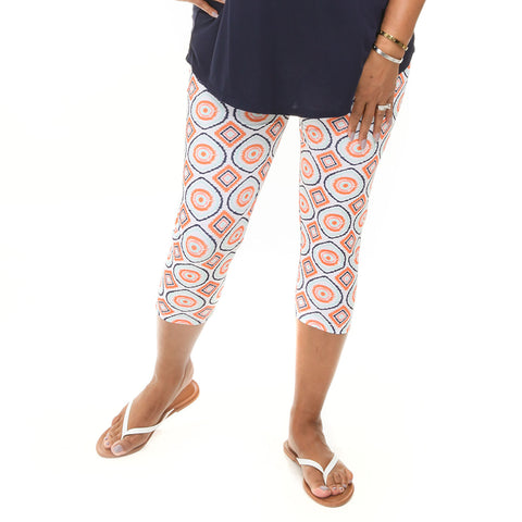 Ladies Sunset Soiree Arden Capri Leggings