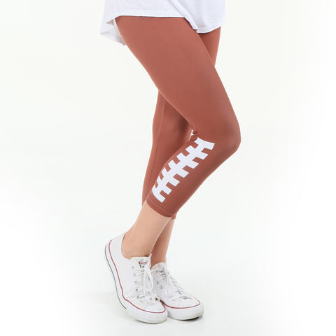 Ladies Football Fame Arden Capri Leggings