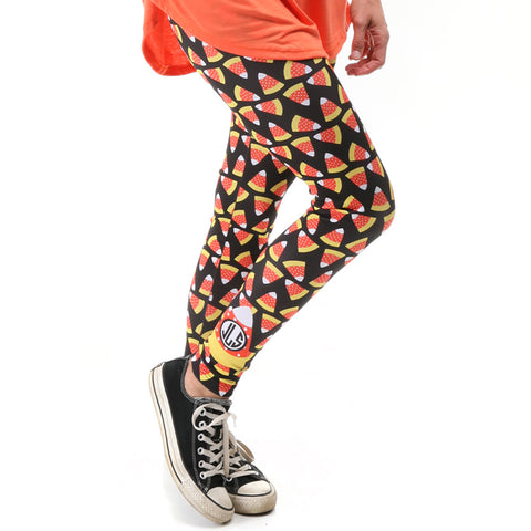 Ladies Candy Corn Arden Leggings
