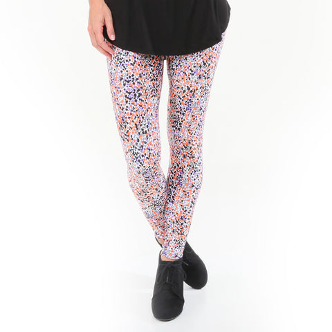 Ladies Halloween Dancing Dots Arden Leggings
