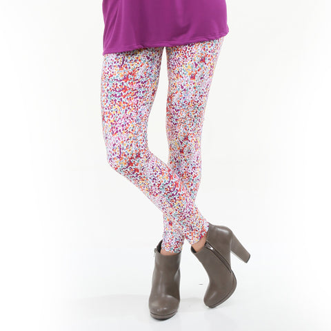 Ladies Fall Dancing Dots Arden Leggings