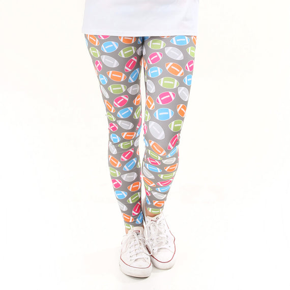 73145c3c2b613 Ladies Football Toss Arden Leggings – Lolly Wolly Doodle