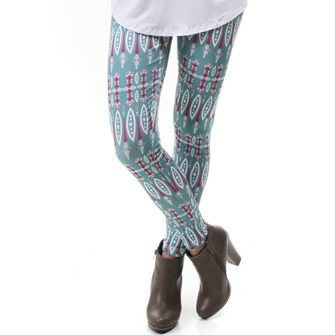 Ladies Fall Boho Arden Leggings