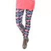 Ladies Coral Feather Aztec Arden Leggings