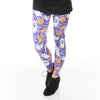 Ladies Pumpkin Swirl Arden Leggings