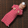 Red Stripe Layette