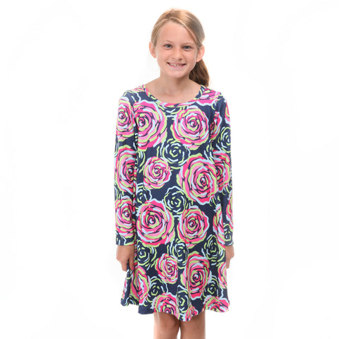 Midnight Rose Charlee Dress