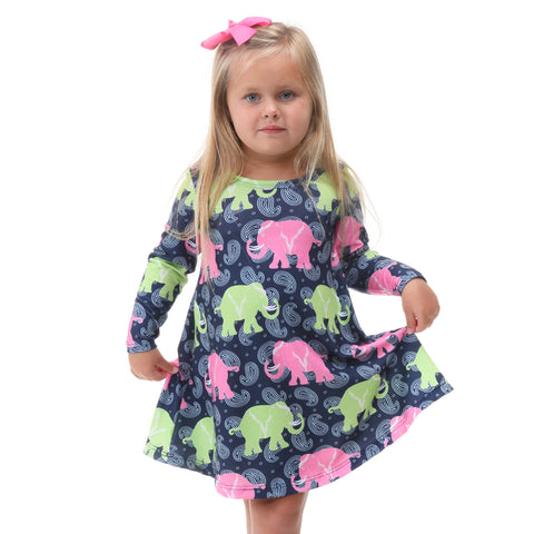 Elephant Walk Paisley Charlee Dress