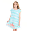 Stripe Sealife Eva Dress