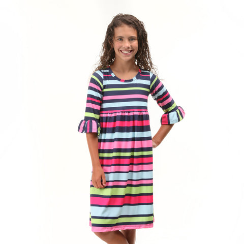 Stripe Liv Dress