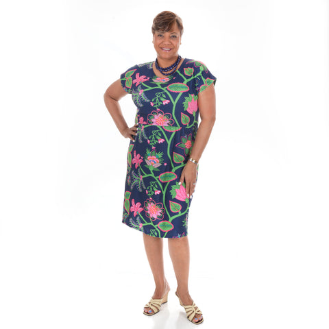 Tropical Vine Lauren Dress