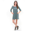Argyle Ikat Olivia Dress