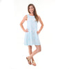 Beach Shells Rose Swing Dress