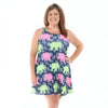 Elephant Walk Paisley Rose Swing Dress