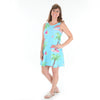Paradise Island Rose Swing Dress