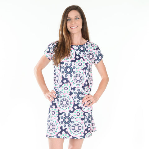 Floral Geo Willa Dress