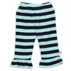 Aqua Navy Stripe Pants