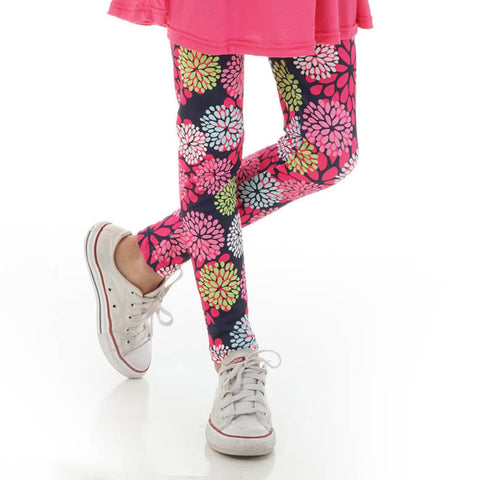 Girls Flower Arden Leggings
