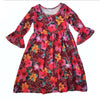 Tropical Ruby Liv Dress