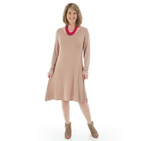 Taupe Kayla Dress