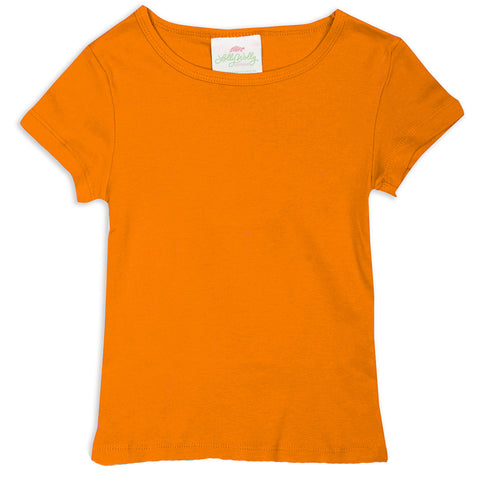 Orange Initials Top