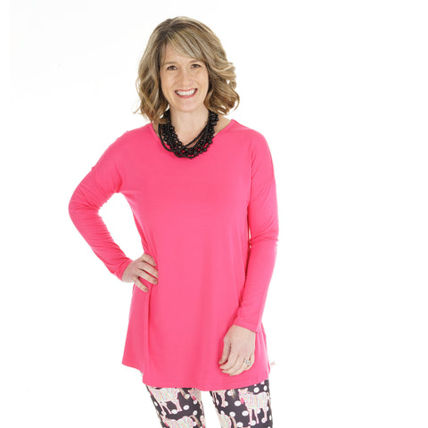 Hot Pink Sadie Top