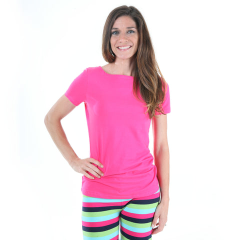 Fuschia Top