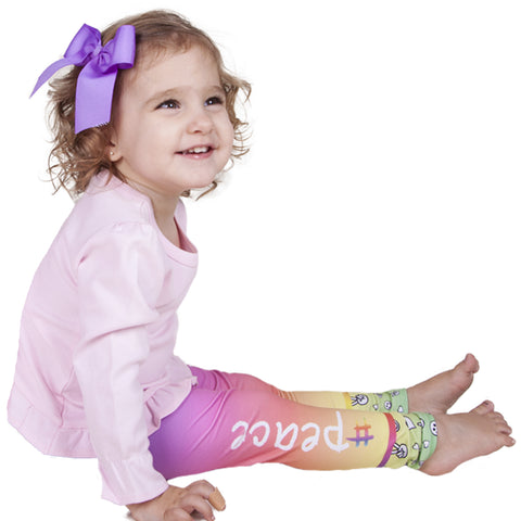 Baby Girls # Peace Ireland Leggings