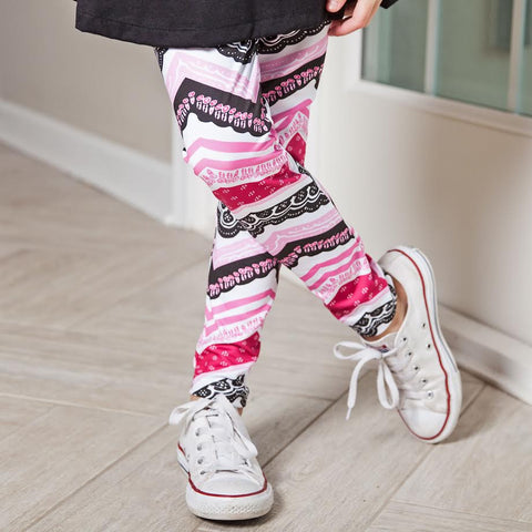 Girls Chevron Arden Leggings