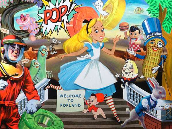 the museum of humor art nelson de la nuez moha alice in pop land wonderland pop art