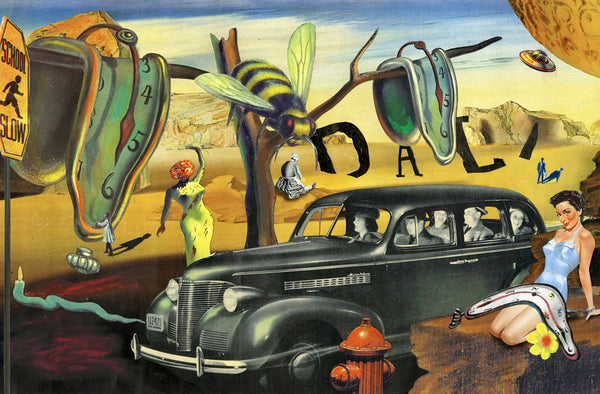 nelson de la nuez museum of humor art surreal salvador dali